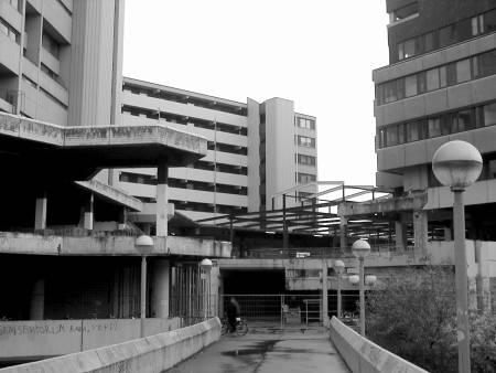 Ihmezentrum-Baustelle