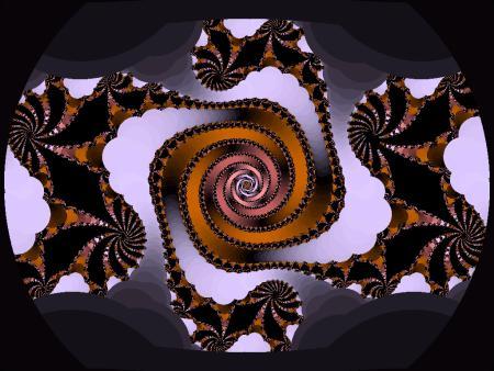 Beispiel eines Fraktales