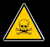 Gefahrgutzeichen: Giftig