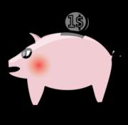 Clipart: Sparschwein